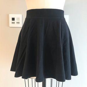 Black Circle Mini Skirt H&M